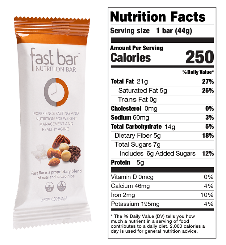 Nuts and Nibs Fast Bar